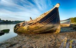 Velho envie destruições em Ayr Scotland Imagem de Stock Royalty Free