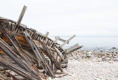 Velho envie destruições em Ayr Scotland Fotos de Stock