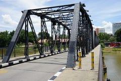 Velho fresco de Chiang Mai Thailand Bridge Steel da cidade Fotos de Stock
