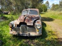 Velho holden bonito antigo oxidado Fotos de Stock Royalty Free