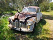 Velho holden bonito antigo oxidado Fotos de Stock