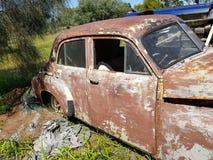 Velho holden bonito antigo oxidado Fotografia de Stock Royalty Free