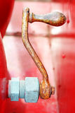 Velho, motor de incêndio do vintage Foto de Stock Royalty Free