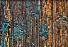 Velho, painéis de madeira do grunge usados como o fundo Fotos de Stock Royalty Free