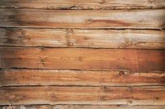 Velho, parede de madeira do grunge usada como o fundo Fotos de Stock Royalty Free