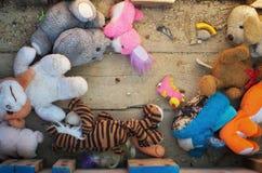 Velho perca brinquedos fotografia de stock royalty free
