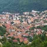 Â velho Romania do centro de cidade do â de Brasov Foto de Stock