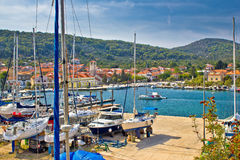 Veli iz island waterfront view Royalty Free Stock Image