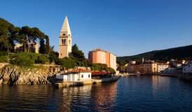 Veli Losinj. Is the second largest town on the island Losinj, Croatia Royalty Free Stock Photo