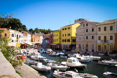 Veli Losinj on Croatia, Europe Royalty Free Stock Image