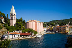 Veli Losinj on Croatia, Europe Royalty Free Stock Photos