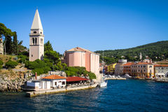 Veli Losinj on Croatia, Europe Stock Image