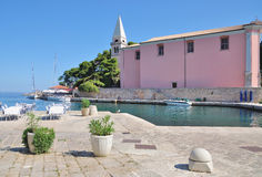 Veli Losinj, ilha de Losinj, mar de adriático, Croácia Foto de Stock