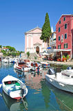 Veli Losinj,Losinj Island,Croatia. The picturesque little harbor of veli losinj,losinj island,croatia Stock Photo