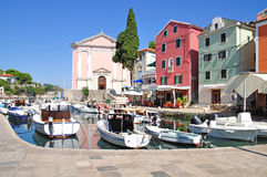 Veli Losinj,Losinj Island,Croatia. The picturesque little harbor of veli losinj,losinj island,croatia Stock Photos