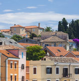 Veli Losinj. Small port town of Veli Losinj Royalty Free Stock Photo