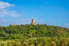 Velia, local arqueológico no Campania, Itália imagem de stock royalty free