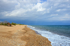 Velika beach, Greece Stock Images