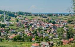 Velika Kladusa Bosnien fotografering för bildbyråer