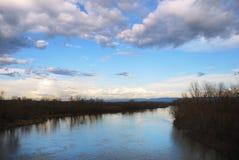 Velika Morava Fluss Lizenzfreies Stockbild