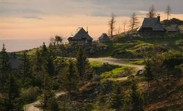 Velika planina royalty free stock photo