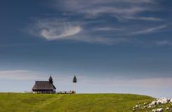 Velika Planina, Slovenië Royalty-vrije Stock Foto's