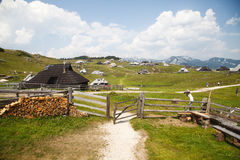 Velika planina, Slovenia Royalty Free Stock Images