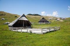 Velika planina, Slovenia Stock Photo
