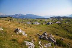 Velika planina, Slovenia Royalty Free Stock Photos