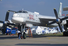 Veliki Novgorod airplane at MAKS International Aerospace Salon Stock Photos