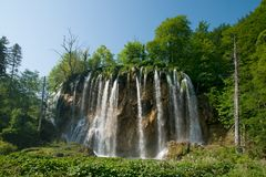 Veliki prstavac waterfall Stock Photo