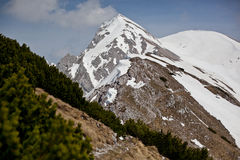 Veliki Stol in Karavanke range, Slovenia Royalty Free Stock Image