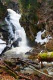 Veliki Šumik Waterfall, Pohorje, Slovenia Stock Image