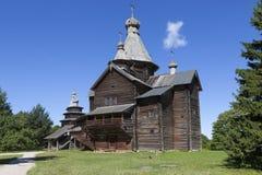 Velikiy Novgorod Μουσείο της ξύλινης αρχιτεκτονικής Vitoslavlitsy nativity Πούλια Virgin της Ιταλίας εκκλησιών lecce στοκ εικόνα με δικαίωμα ελεύθερης χρήσης