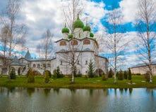 Velikiy Novgorod. Nicholas Vyazhischsky stauropegic nunnery around Veliky Novgorod Royalty Free Stock Photos