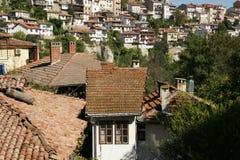 Veliko Tarnovo. The ancient capital of Bulgaria Veliko Tarnovo autumn Royalty Free Stock Photo