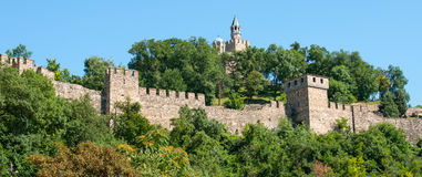 Veliko Tarnovo. Ancient fortress Royalty Free Stock Photography