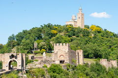 Veliko Tarnovo. Architectural and Museum Reserve Tsarevets Royalty Free Stock Photo