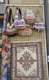 Veliko Tarnovo BG, August 15th: Souvenirs Store in the Medieval town Veliko Tarnovo from Bulgaria Stock Photos