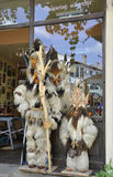 Veliko Tarnovo BG, le 15 août : Boutique de souvenirs dans la ville médiévale Veliko Tarnovo de Bulgarie Images stock