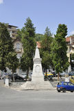 Veliko Tarnovo BG, le 15 août : Liberty Monument dans la ville médiévale Veliko Tarnovo de Bulgarie Photos stock