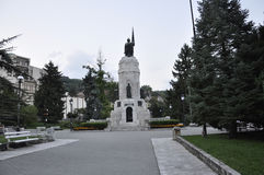 Veliko Tarnovo BG, le 15 août : Monument de la Bulgarie de mère dans la ville médiévale Veliko Tarnovo de Bulgarie Photo libre de droits
