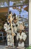 Veliko Tarnovo BG, o 15 de agosto: Loja de lembranças na cidade medieval Veliko Tarnovo de Bulgária Imagens de Stock