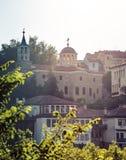 Veliko Tarnovo, Bułgaria - widok St Constantine i Helena kościół fotografia royalty free
