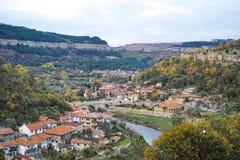 Veliko Tarnovo, BUGARIA. Autumn Landscape of Veliko Tarnovo, BUGARIA Royalty Free Stock Image