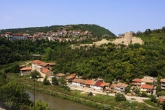 Veliko Tarnovo and Trapezitsa fortress, Bulgaria Royalty Free Stock Photo