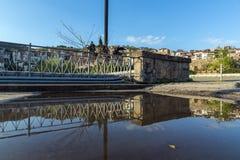 VELIKO TARNOVO, BULGARIA - 9 APRIL 2017: Monument to the Asen Dynasty in city of Veliko Tarnovo royalty free stock photography