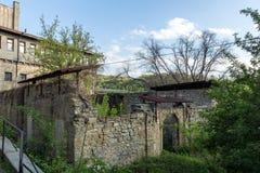 VELIKO TARNOVO, BULGARIA - 9 APRIL 2017: Ruins of Church of St. Spas in city of Veliko Tarnovo. Bulgaria Royalty Free Stock Photography