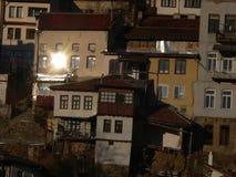 Veliko Tarnovo, Bulgaria Il monumento di Asenevci che è dedicato a re Asen, Peter, Kaloyan e Ivan Asen II immagine stock libera da diritti