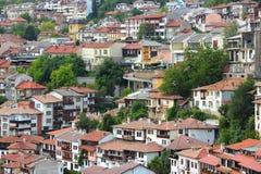 Veliko Tarnovo, Bulgaria. Veliko Tarnovo in Bulgaria. Old town located on three hills stock photography
